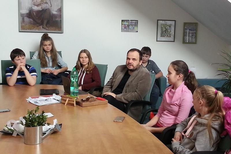 Ekotým na schůzce s panem starostou