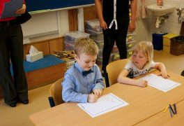 Zápis do prvních tříd