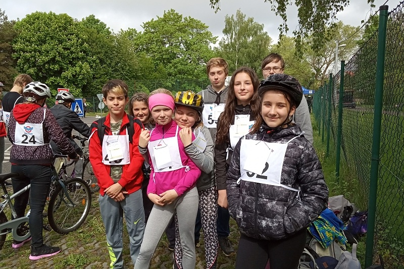 Soutěž mladých cyklistů