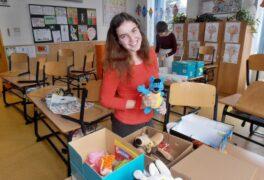 Děti darují dětem aneb radost v krabici