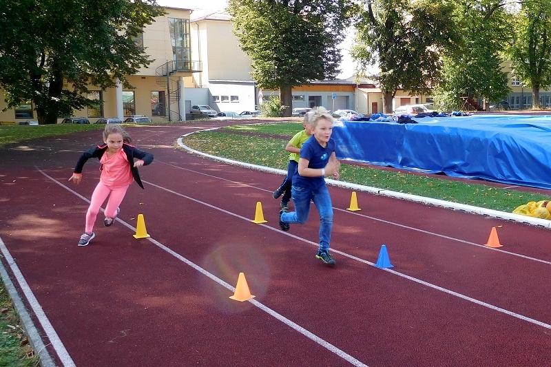 Sportovní odpoledne školní družiny